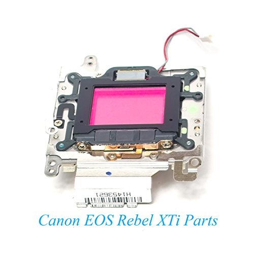(Genuine Canon EOS Digital Rebel XTI / 400D 10.1MP CCD Image Sensor w/Self Cleaning Unit - Replacement Parts)