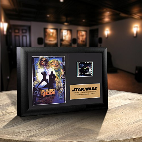 Star Wars Episode VI Return of the Jedi Authentic 35mm Film Cell Special Edition Display 7×5