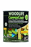 Rust-Oleum 1904A Wolman (Woodlife) CopperCoat Green Wood Preservative-Below Ground, Quart