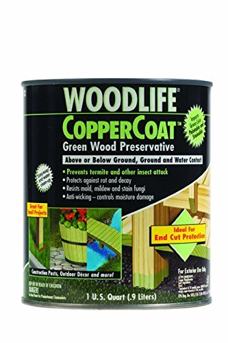 Rust-Oleum 1904A Wolman (Woodlife) CopperCoat Green Wood Preservative-Below Ground