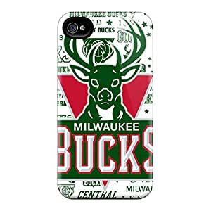 Iphone 4/4s Cover Case - Eco-friendly Packaging(milwaukee Bucks)