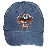 Tommery Unisex Thin Lizzy Band Are You Ready Dublin Ireland Hip Hop Baseball Caps