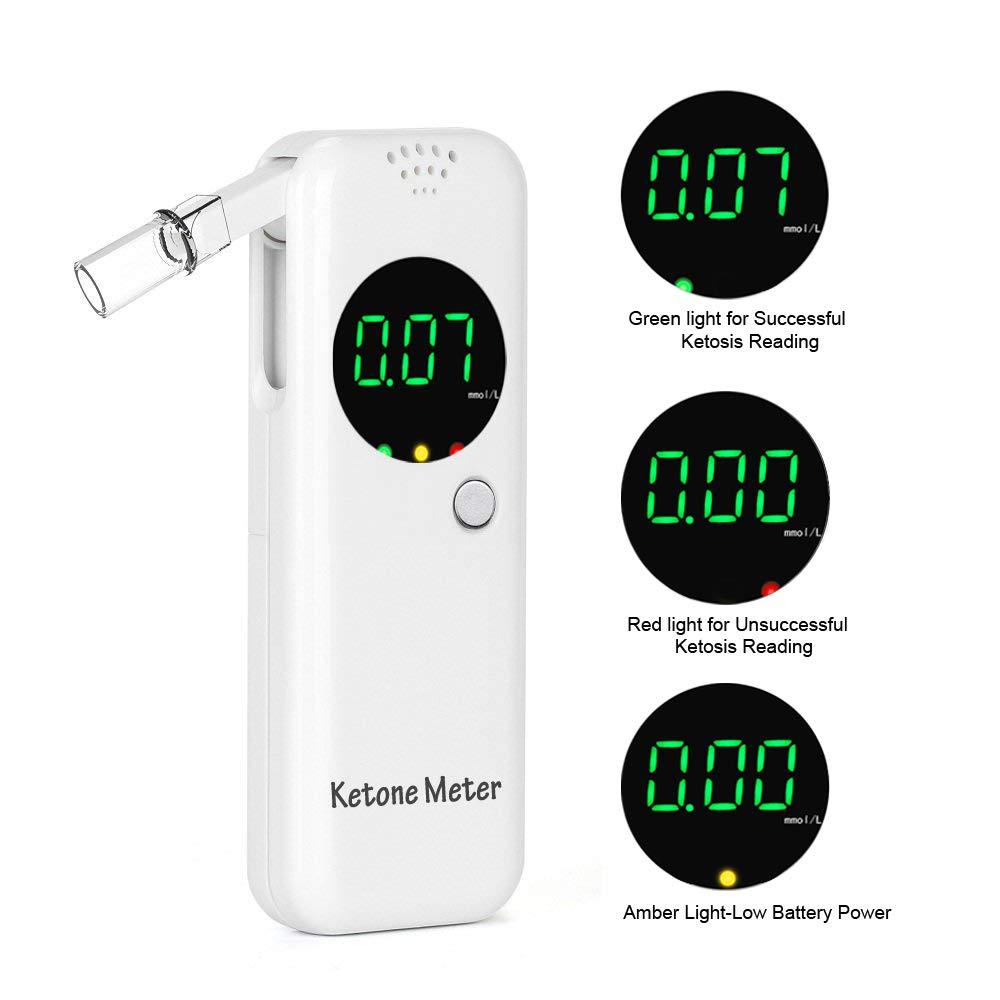 Ketone Breath Meter with Digital LCD Displays for Dietitian Testing by YIKKAI (Image #4)