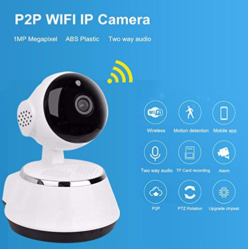 Creazy Wireless 720P Pan Tilt Network Security CCTV IP Camera Night Vision WiFi Webcam by Creazydog (Image #7)