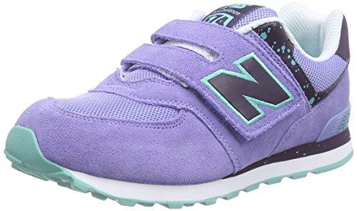 Enfant New Blue Asy Sneakers KG574 Blau Mixte Balance Basses Bleu qaaUX1xw