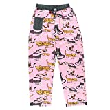 Cat Nap-Cat PJ Pant by LazyOne,X-Large,Pink
