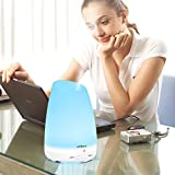 7 Colors LED Ultrasonic Aroma Humidifier Air Aromatherapy Essential Oil ...