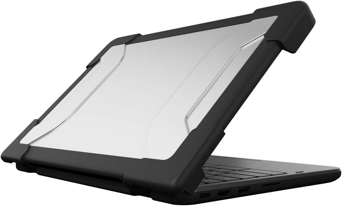 """MAXCases EdgeProtect Single-Side Case for Acer C732 Chromebook 11"""" - Budget-Friendly Top-Only Laptop/Chromebook Case, Added Corner Protection (Black)"""