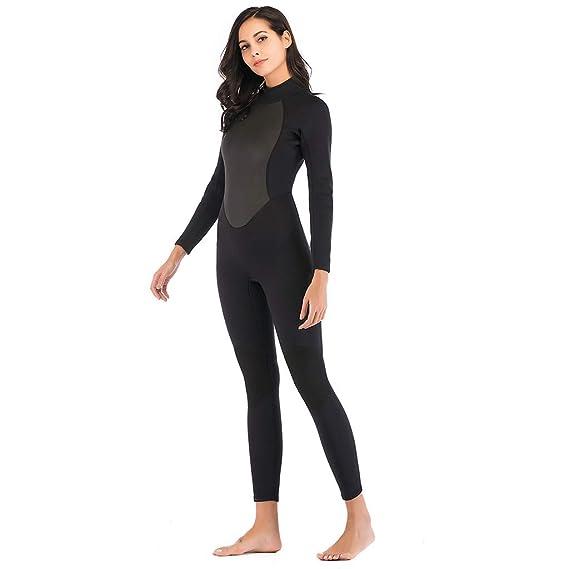 Amazon.com: CapsA - Traje de buceo para mujer, 0.118 in ...