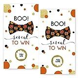 Halloween Pumpkin Scratch Off Game Card (28 Pack)