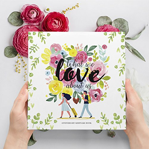 Pillow & Toast Our 1st Wedding Anniversary Journal: Memory Book & Photo Album Couples. Fill in Diary Proposal, Wedding Day Milestones. Bride Gift Ideas 2018! by Pillow & Toast (Image #1)