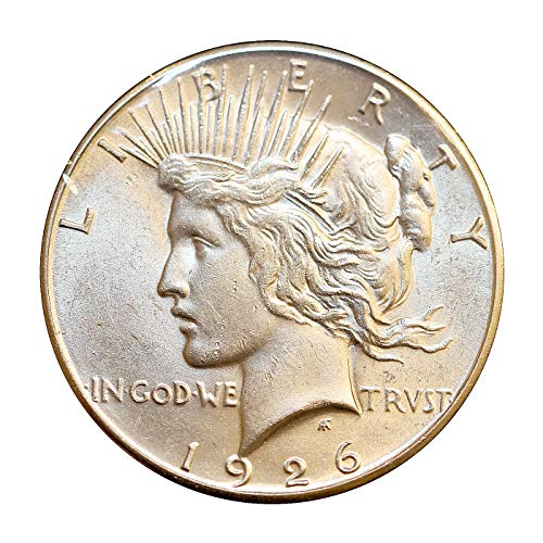 1926 S Peace Silver Dollar - Gem BU/MS/UNC