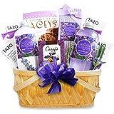 California Delicious Lavender Spa Getaway Gift Basket