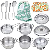 Play Pots and Pans Toys for Kids - Kitchen Playset Pretend Cookware...