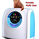 MD Portable Home Travel Oxygen Generator 1L-6L-up- to-90% (Non-battery operated)