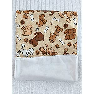 Dog Theme Bib and Burp Cloth Set, Baby Shower Gift, Custom Baby Gift, Personalized Baby Gift, Monogrammed Baby Gift