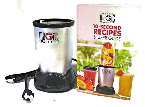 Magic Bullet Base and 10-Second Recipes User Guide (Magic Bullet Rx)