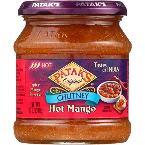 Patak's Hot Mango Chutney (6x12oz )