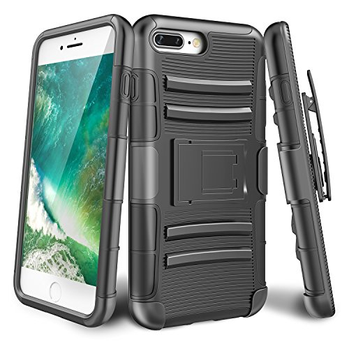 iPhone-7-Plus-CaseTILL-Knight-Armor-Heavy-Duty-Rugged-Holster-Resilient-Armor-Case-Belt-Swivel-ClipKickstand-Combo-Cover-Shell-For-Apple-iPhone-7-Plus-55-All-Carriers