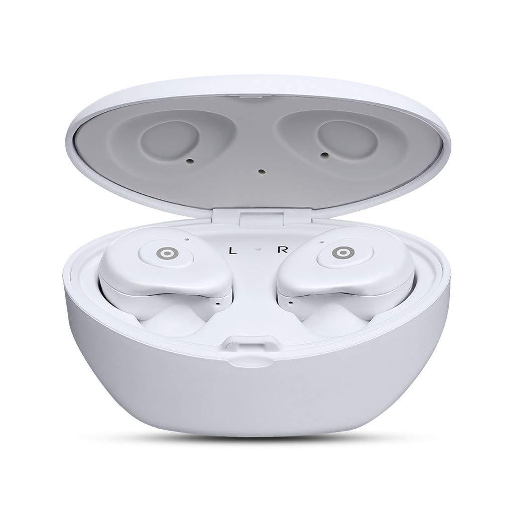 Trigle SX-12 ミニ TWS ワイヤレス Bluetooth ヘッドセット ツイン トゥルーインイヤー ステレオ イヤホン イヤホン Free Size ホワイト Trigle 001  ホワイト B07Q27LPBY