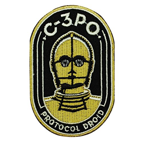 (Disney Star Wars C-3PO Protocol Droid Patch Officially Licensed Iron On)