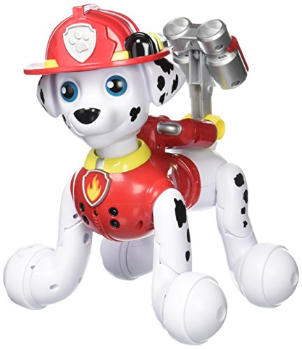 Paw Patrol, Zoomer Marshall, Interactive Pup with Missions, Sounds and Phrases, by Spin Master (Marshall Paw Patrol Costume)