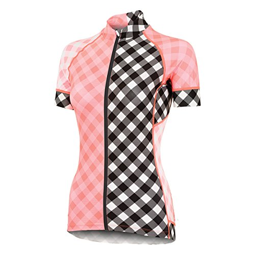 Shebeest : Womens Clothing - Shebeest Divine Gingham Mash Jersey (small)