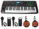 Novation IMPULSE 49Key Ableton Live MIDI USB Keyboard Controller+Speaker+Mics