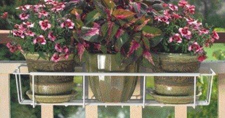Cobraco Adjustable Planter (Avant Garden F2436-W CobraCo Adjustable Flower Box Holder 24