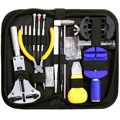 Watch Repair Tool Kit, Vastar 146 PCS Watch Repair Kit Professional Spring Bar Tool Set