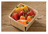 David's Garden Seeds Pepper Specialty Lunchbox Mix 3515 (Multi) 25 Non-GMO, Organic Seeds