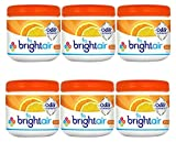 Bright Air Solid Air Freshener and Odor Eliminator, Mandarin Orange and Fresh Lemon Scent, 14...