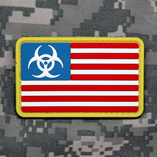 US FLAG ZOMBIE OUTBREAK Tactical