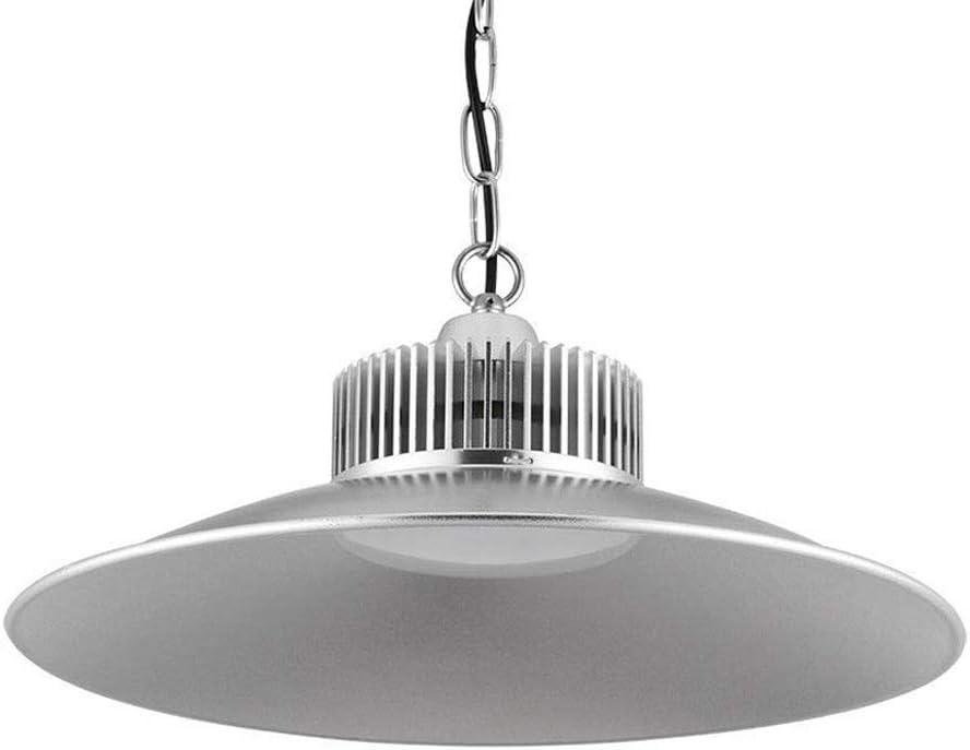 Sararoom 150W Lámpara Industrial LED,IP54 Impermeable lamparas techo colgantes,Alta luz de la bahía,15000LM,Blanco frio 6500K,E27 Zócalo,para estadio,plaza,sala,fabrica,almacén