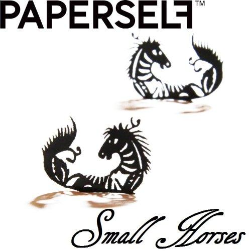 신감각 페이퍼 아이래시☆PAPERSELF[페이퍼 셀프] Small-horses 【스몰 호스】 2페어 (블랙)