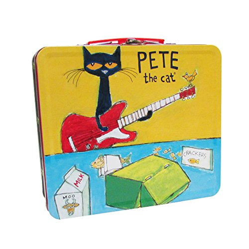 Playset Tin - Kids Preferred Pete The Cat Retro Tin Lunch Box, 8