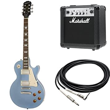 Amazon Com Epiphone Les Paul Standard Electric Guitar With Amp And