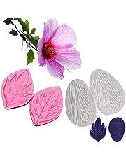 AK ART KITCHENWARE Sugar Paste Flower Veining Molds Petal Veiners Fontant Mold Cake Craft Tools