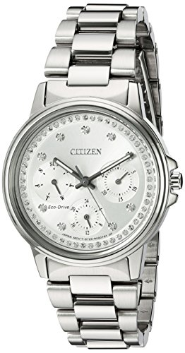 Citizen Women s Eco-Drive Silhouette Crystal Watch