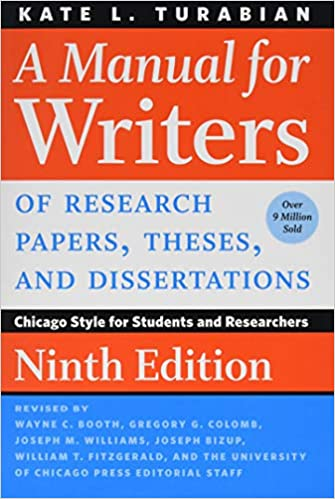 A Manual For Writers Of Research Papers Theses