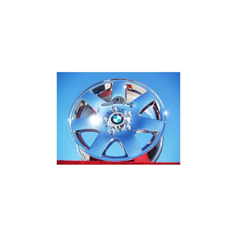 BMW 3 seriesStyle 45 Set of 4 genuine factory 16inch chrome wheels