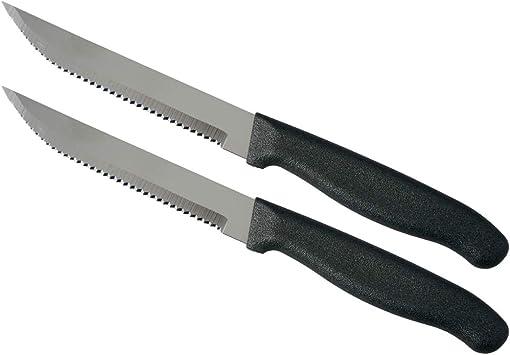 Compra Juego de cuchillos fixwell., plástico acero inoxidable, Steakmesser 2-teilig en Amazon.es