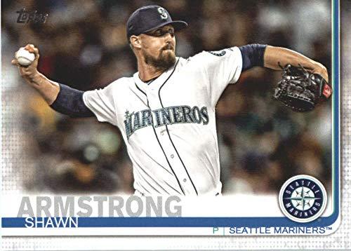 2019 Topps #517 Shawn Armstrong Seattle Mariners MLB Baseball Trading Card