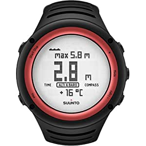 Suunto Core Outdoor Sports Instruments Designer Watches - Lava Red / One Size Fits All