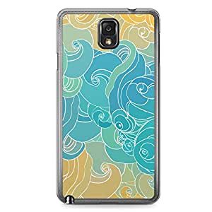 Clouds 1 Samsung Note 3 Transparent Edge Case - Clouds Collection
