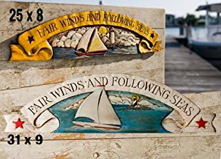 product image for Piazza Pisano Fair Winds Nautical Decor Wall Plaque