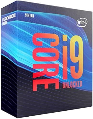 Intel Core i9-9900K Desktop Processor 8 Cores as much as 5.0 GHz Turbo unlocked LGA1151 300 Series 95W