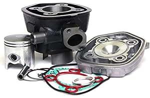 Citomerx Sport - Kit de cilindro para motor de 70 cm³ de motos como Minarelli LC, Aprillia Gulliver, Rally, SR 50, Benelli 491, Italjet Dragster o Yamaha YQ Aerox 50