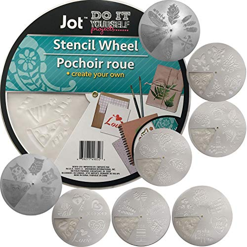 Plastic Stencil Wheel Set of 6 (Full Set)