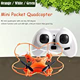 DaySeventh RC101 Drone 2.4G 4CH 6-Axis Mini RC Gyro Aircraft Toys Helicopter Quadcopter Without Camera (Orange)